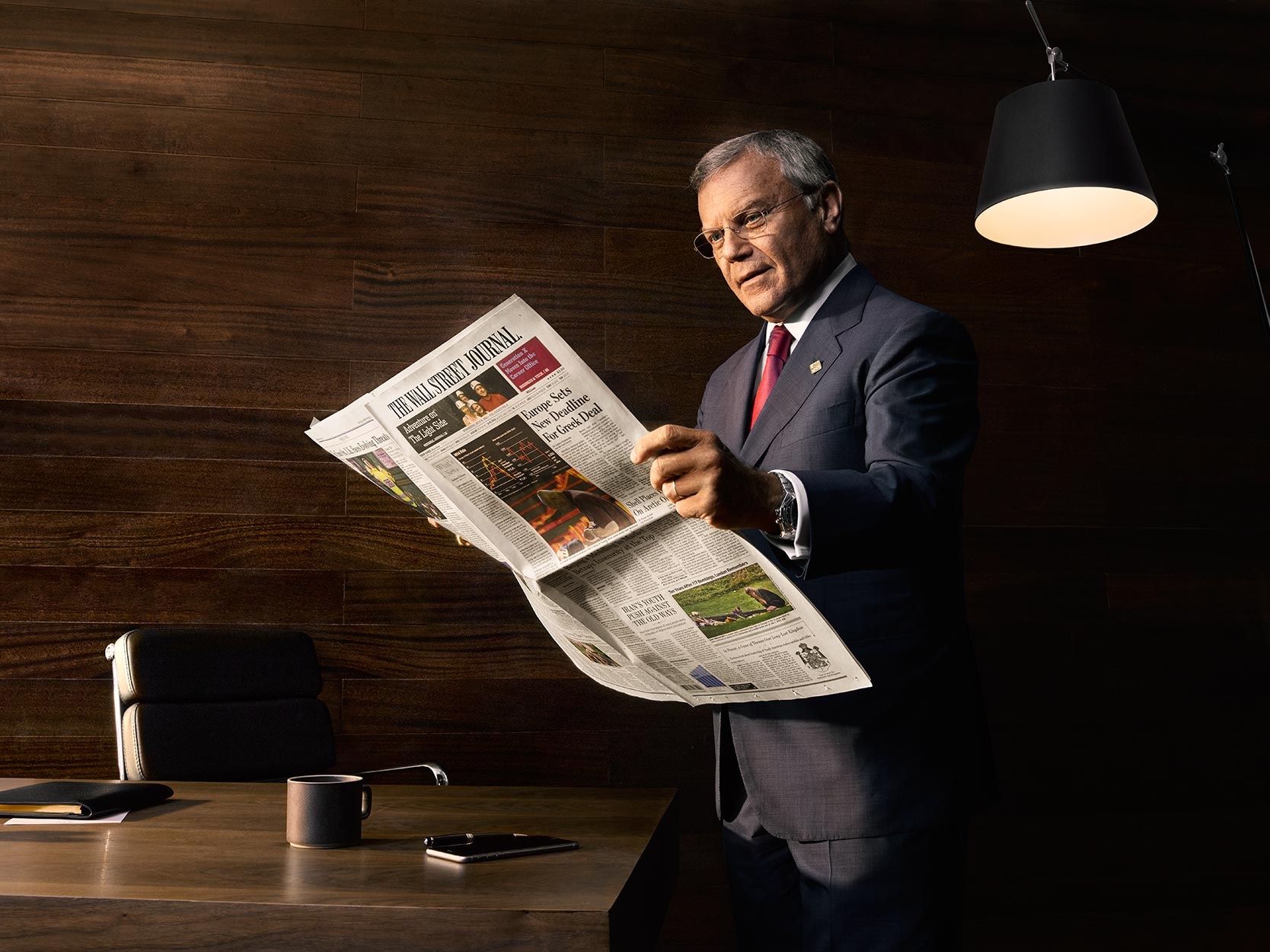 Wall Street Journal / Sir Martin Sorell